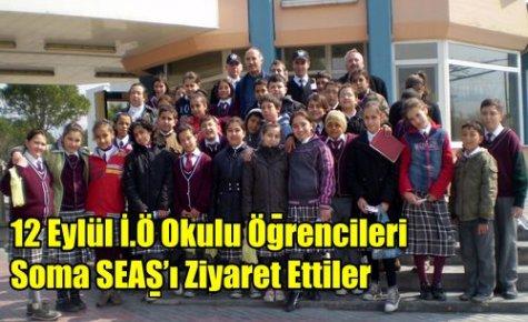 12 Eylül İ.Ö Okulundan SEAŞ'a Gezi
