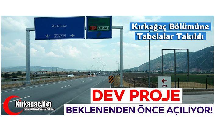 İSTANBUL-İZMİR OTOBANI 8 AĞUSTOS'TA AÇILIYOR