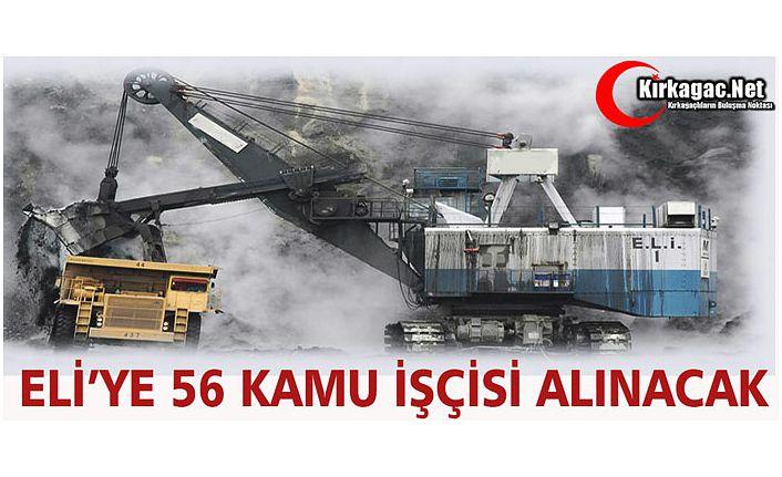 ELİ'YE 56 KAMU İŞÇİSİ ALINACAK
