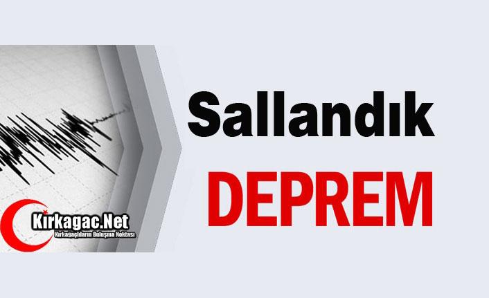 DEPREM SALLANIYORUZ..