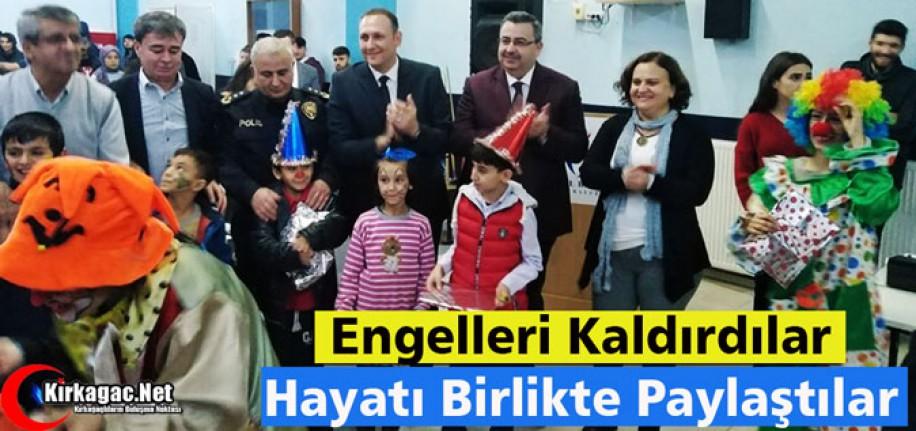 ENGELLERİ KALDIRDILAR HAYATI BİRLİKTE PAYLAŞTILAR