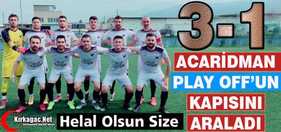 """EFSANE"" PLAY OFF'UN KAPISINI ARALADI 3-1"