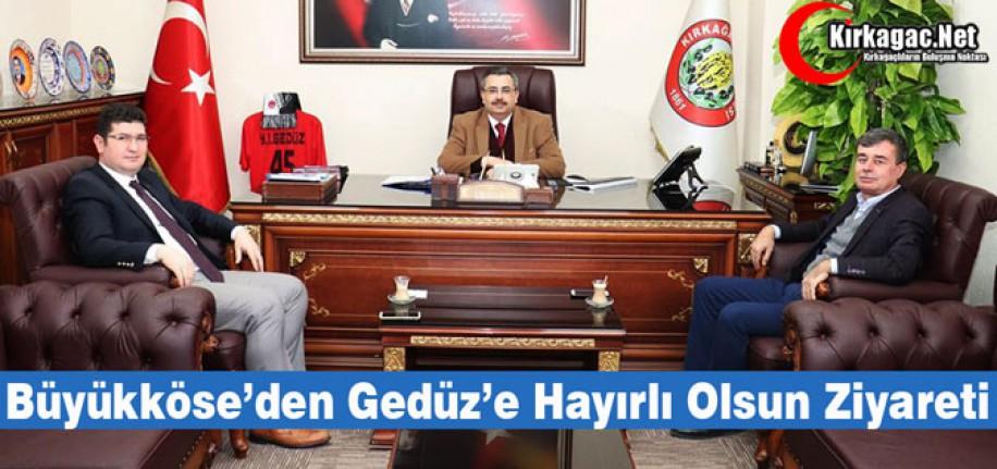 """KAYMAKAM BÜYÜKKÖSE'DEN """"HAYIRLI OLSUN"""" ZİYARETİ"""