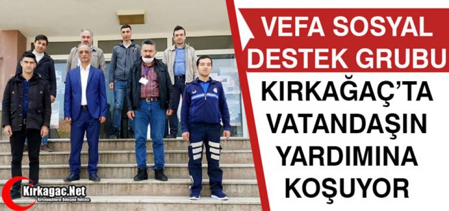 VEFA SOSYAL DESTEK GRUBU, VATANDAŞIN YARDIMINA KOŞUYOR