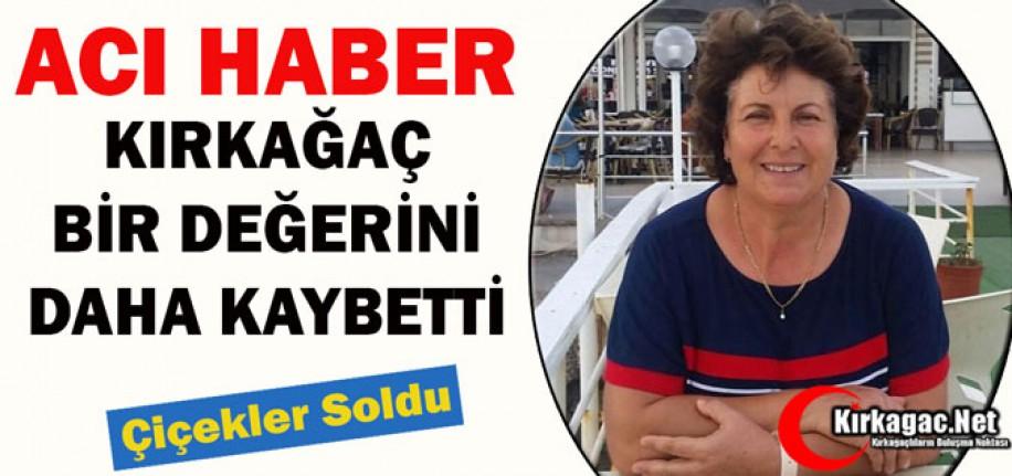 ACI HABER... HALİDE SOYDAN VEFAT ETTİ