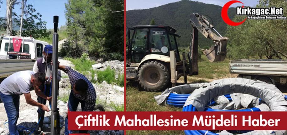 ÇİFTLİK MAHALLESİNE MÜJDELİ HABER