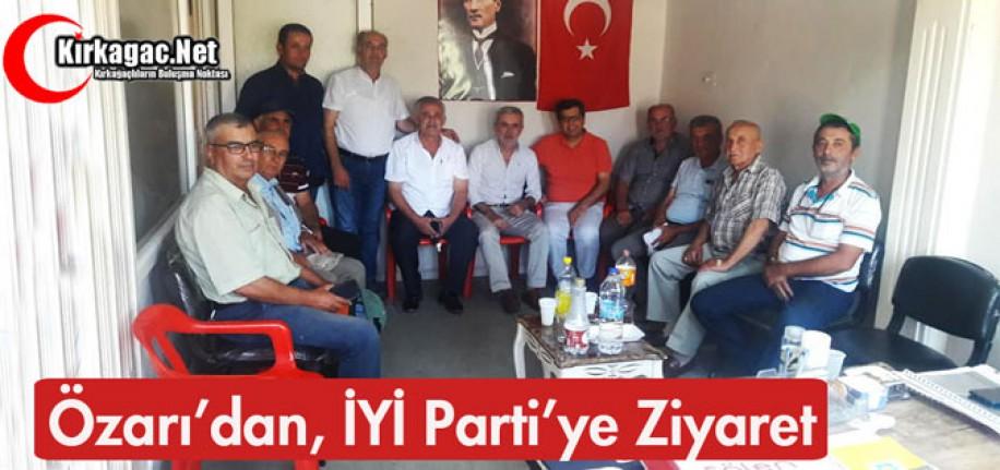 ÖZARI'DAN İYİ PARTİ'YE ZİYARET