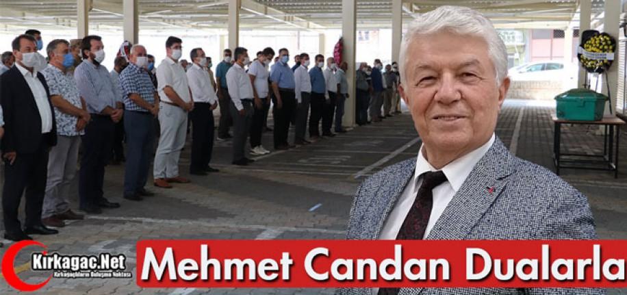 MEHMET CANDAN DUALARLA TOPRAĞA VERİLDİ