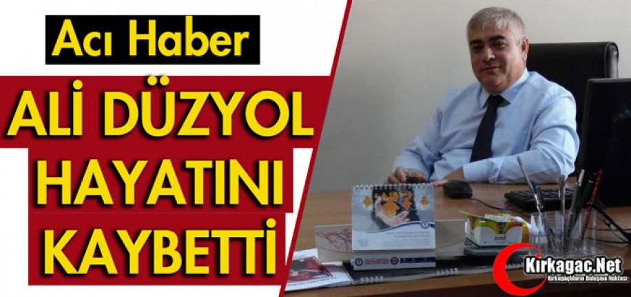 ACI HABER..ALİ DÜZYOL VEFAT ETTİ