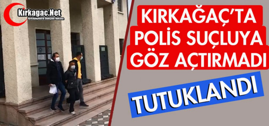 "POLİS ""SUÇLUYA"" GÖZ AÇTIRMADI"