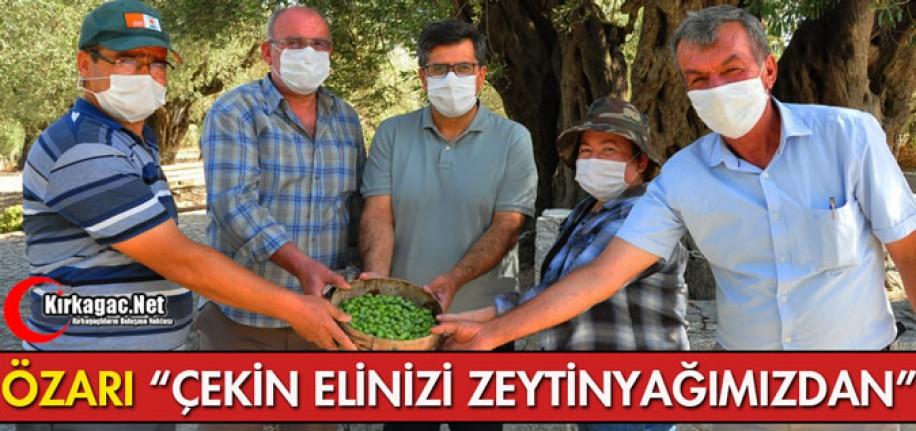 """ÖZARI """"ÇEKİN ELİNİZİ ZEYTİNYAĞIMIZDAN"""""""