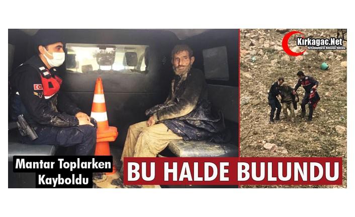 MANTAR TOPLARKEN KAYBOLDU BU HALDE BULUNDU