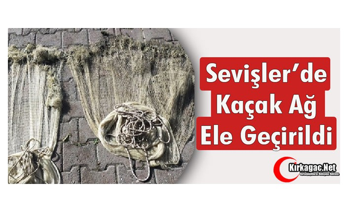 SEVİŞLER'DE YİNE KAÇAK AĞ TESPİT EDİLDİ