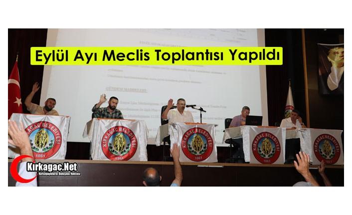 EYLÜL AYI MECLİS TOPLANTISI YAPILDI