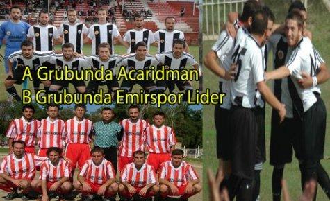 A Grubunda Acaridman,B Grubunda Emir Lider