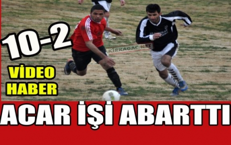 ACARİDMAN ABARTTI 10-2(VİDEO)