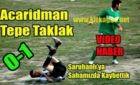 Acaridman'a Saruhanlı Darbesi 0-1 (VİDEO)
