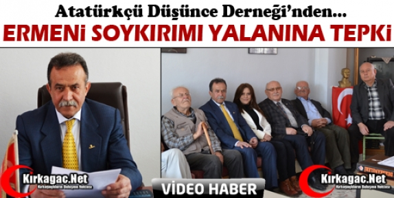 ADD'DEN ERMENİ SOYKIRIMI YALANINA TEPKİ(VİDEO)