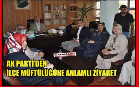AK PARTİ'DEN ANLAMLI ZİYARET