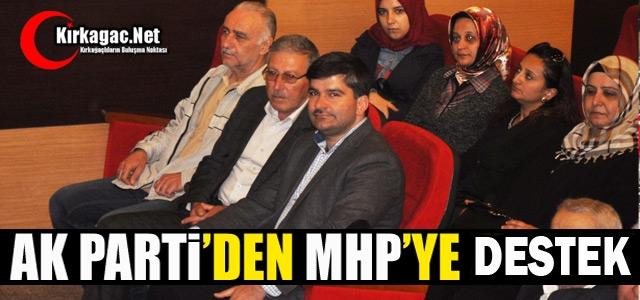 """AK PARTİ'DEN MHP'YE 'EVET"""" DESTEĞİ"""