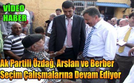 Ak Partili Adaylar Destek İstedi(VİDEO)