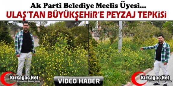 AK PARTİ'Lİ ULAŞ'TAN BÜYÜKŞEHİR'E TEPKİ(VİDEO)