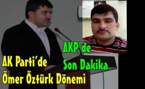 AK Parti'nin Yeni İlçe Başkanı Öztürk