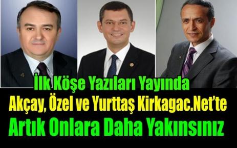 AKÇAY,ÖZEL ve YURTTAŞ KİRKAGAC.NET'TE