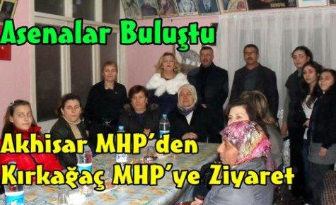 Akhisar MHP'den, Kırkağaç MHP'ye Ziyaret