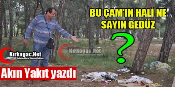 """AKIN YAKIT """"BU ÇAM'IN HALİ NE GEDÜZ"""""""