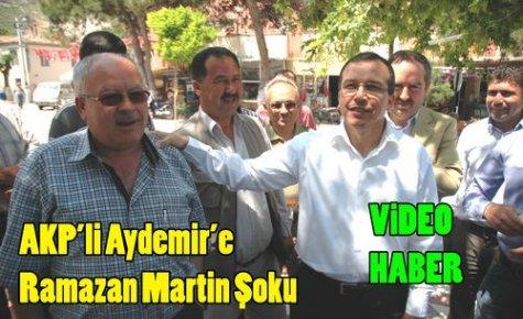 AKP'Lİ ADAYA 'MARTİN' ŞOKU(VİDEO)