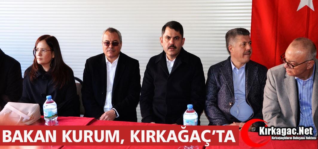 BAKAN MURAT KURUM, KARAKURT MAHALLESİNİ ZİYARET ETTİ