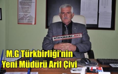 ARİF ÇİVİ, RESMEN GÖREVİNE BAŞLADI
