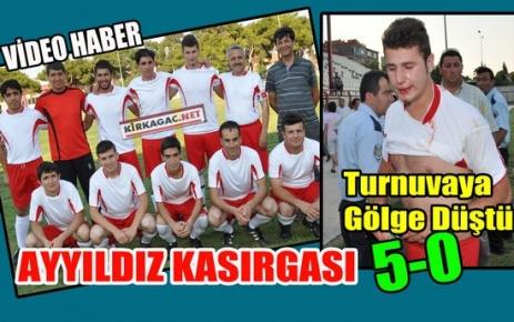 AYYILDIZSPOR FİNALE RAHAT UZANDI 5-0(VİDEO)