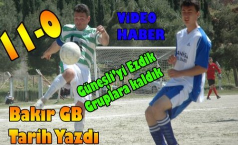 BAKIR GB, DESTAN YAZDI 11-0(VİDEO)