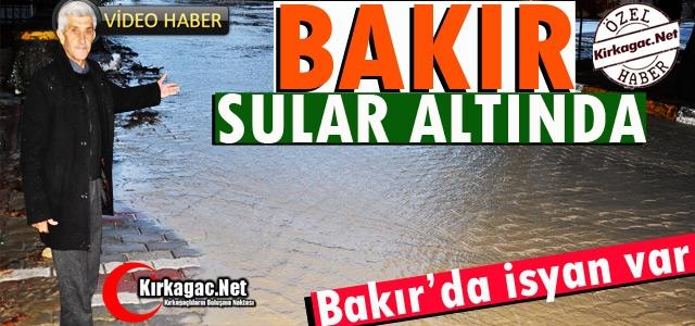 BAKIR MAHALLESİ SULAR ALTINDA(VİDEO)