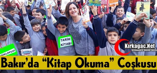"BAKIR'DA 'KİTAP OKUMA"" COŞKUSU"