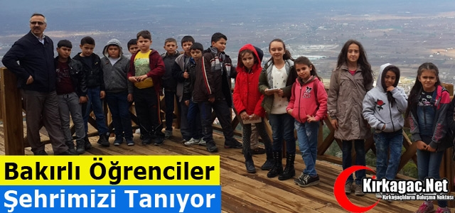 """BAKIRLI ÖĞRENCİLER """"ŞEHRİMİZİ"""" TANIYOR"""