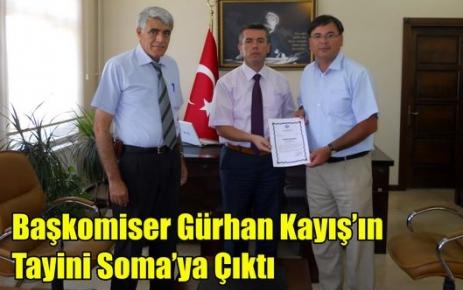Başkomiser Kayış'ın Tayini Soma'ya Çıktı