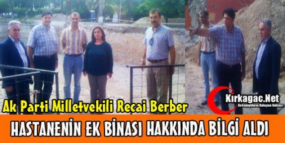 BERBER MÜNGER'DEN BİLGİ ALDI