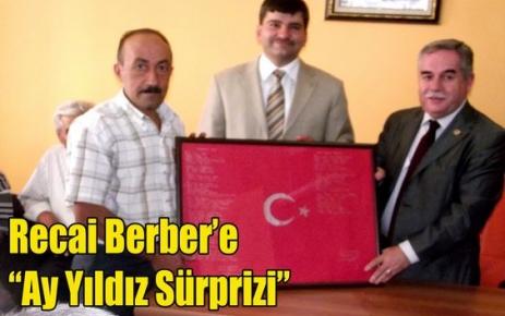 Berber'e 'Ay Yıldız Sürprizi'