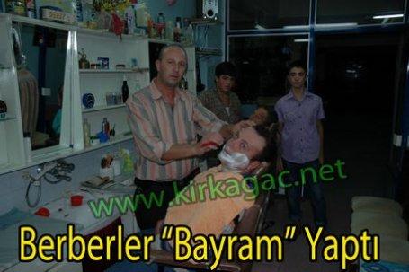 Berberler 'Bayram' Yaptı