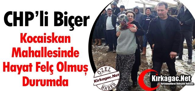 """BİÇER'KOCAİSKAN MAHALLESİNDE HAYAT FELÇ OLMUŞ DURUMDA"""""""