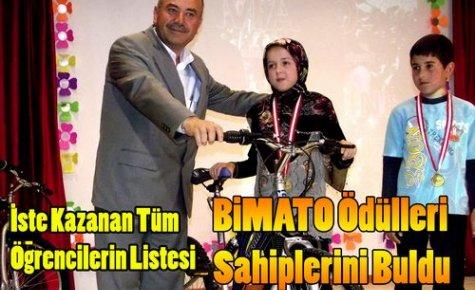 BİMATO Ödülleri Sahiplerini Buldu