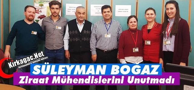 """BOĞAZ """"ZİRAAT MÜHENDİSLERİNİ"""" UNUTMADI"""