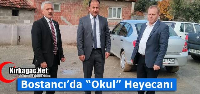 "BOSTANCI'DA ""OKUL"" HEYECANI"