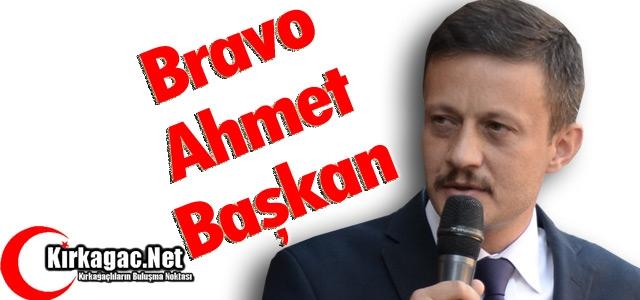 BRAVO AHMET BAŞKAN