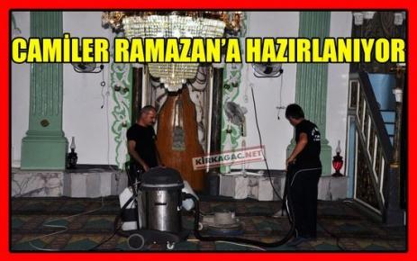 CAMİLER RAMAZAN'A HAZIRLANIYOR