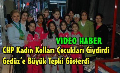 CHP'DEN GEDÜZ'E BÜYÜK TEPKİ(VİDEO)