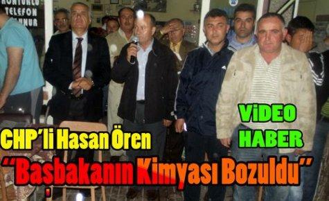 CHP'li Ören'Başbakan'ın Kimyası Bozuldu'(VİDEO)